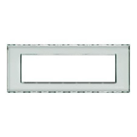 Placa Rectangular Personalizable 7 Módulos LND4807KR Livinglight