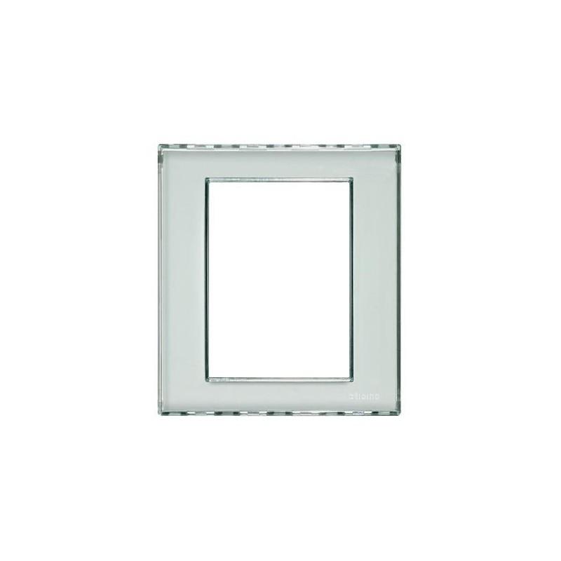 Placa Rectangular 3+3 Módulos Personalizable Livinglight LND4826KR