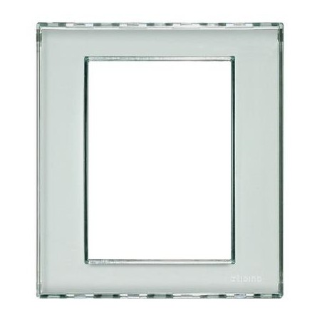 Placa Rectangular 3+3 Módulos Personalizable Livinglight LND4826KR
