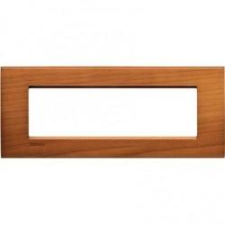 Placa Rectangular 7 Módulos LNA4807LCA Cerezo Bticino Livinglight