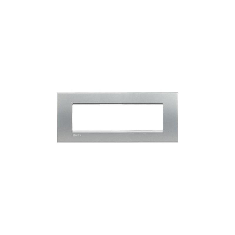Placa Rectangular 7 Módulos Tech LNA4807TE Bticino Livinglight