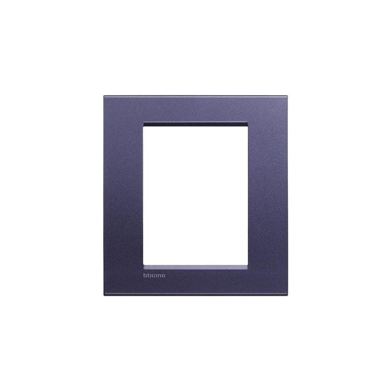 Placa Rectangular 3+3 Módulos Livinglight BTicino LNA4826CB Club