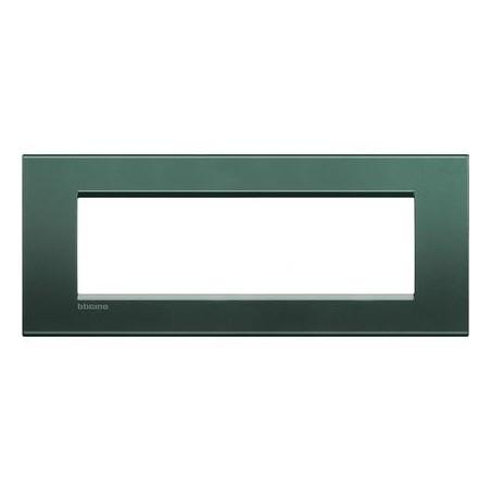 Placa Rectangular 7 Módulos Park LNA4807PK Bticino Livinglight