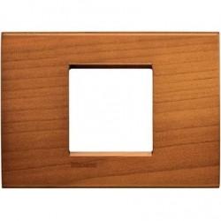 Placa Rectangular LNA4819LCA 2 Módulos Cerezo BTicino livinglight