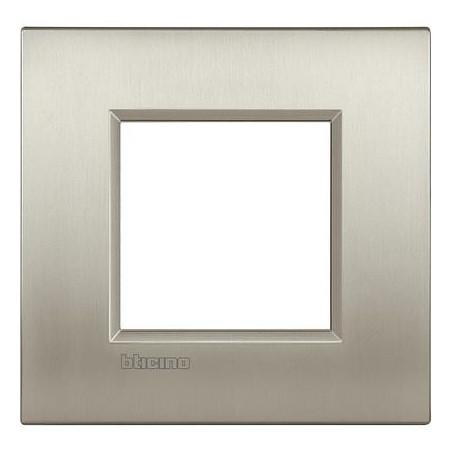 Placa 1 Ventana Titanio LNE4802TIS Bticino Livinglight AIR