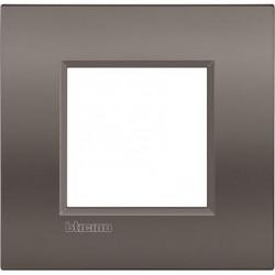Placa 1 Ventana LNE4802CY Arcilla Livinglight AIR Bticino