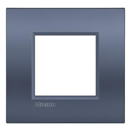 Placa 1 Ventana Blue moon LNE4802BM Bticino Livinglight AIR