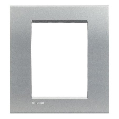 Placa rectangular 3+3 Módulos Tech LNC4826TE Bticino Livinglight AIR