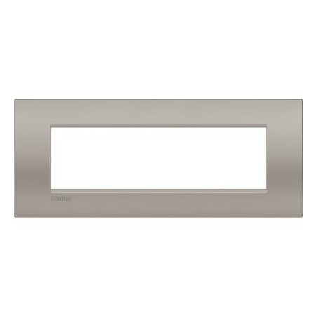 Placa rectangular LNC4807SB 7 Módulos Arena Bticino Livinglight AIR
