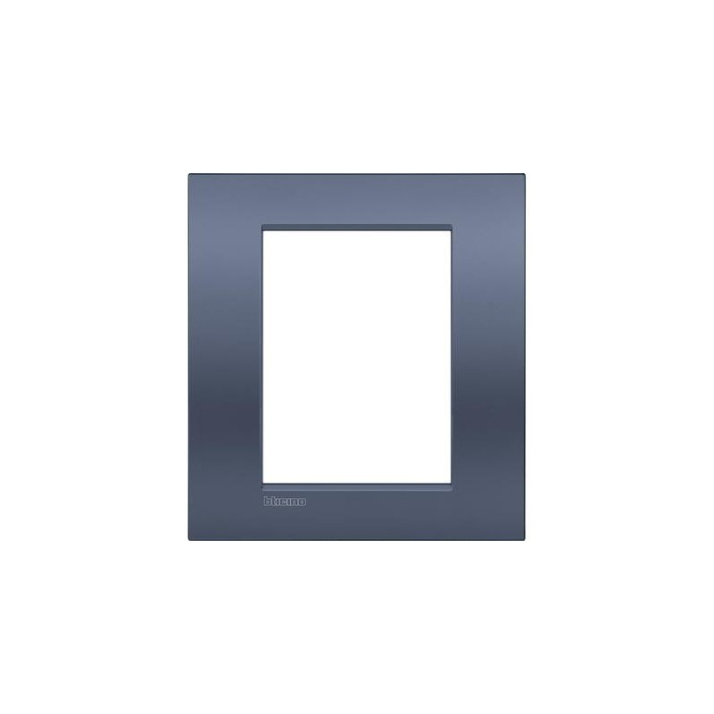 Placa rectangular 3+3 Módulos Blue moon LNC4826BM Livinglight AIR