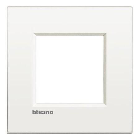 Placa 1 Ventana Blanco LNE4802BN Livinglight AIR BTicino