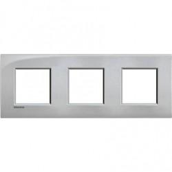 Placa 3 Ventanas Tech LNE4802M3TE Livinglight Air BTicino