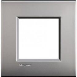 Placa 1 Ventana Niquel Satinado LNE4802NK Livinglight Air BTicino