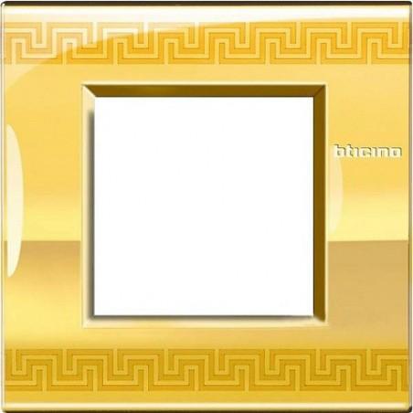 Placa 1 Ventana Greek LNE4802GK BTicino Livinglight AIR