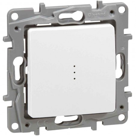 Interruptor - Conmutador Iluminable Blanco 664710 Legrand Niloé