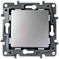 Interruptor-Conmutador Aluminio 665301 Legrand Niloé