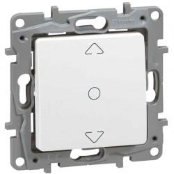 Interruptor para Persianas 3 Posiciones Blanco 664711 Legrand Niloé