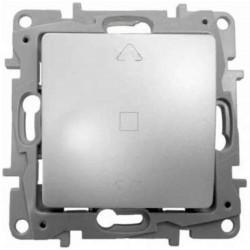 Interruptor para Persianas 3 Posiciones Aluminio 665311 Legrand Niloé