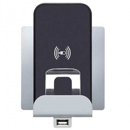 Cargador por Inducción + Puerto USB Legrand Niloé 664797