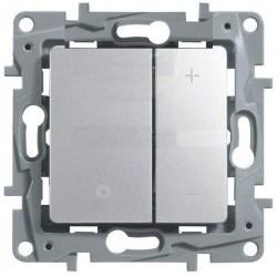 Regulador por Pulsación Aluminio 665314 Legrand Niloé