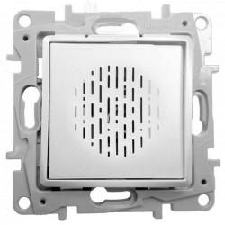 Zumbador 230V / 16W Aluminio 665384 Legrand Niloé