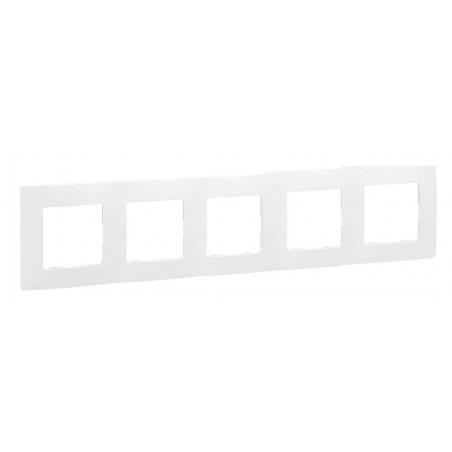 Placa Embellecedora 5 Elementos Blanco 665005 Legrand Niloé