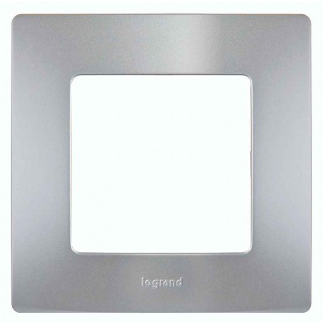 Placa Embellecedora Aluminio 1 Elemento 665061 Legrand Niloé