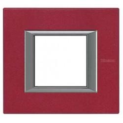 Placa 1 Ventana Rojo China HA4802RC BTicino Axolute