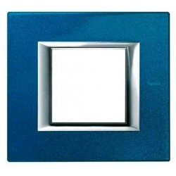 Placa 1 Ventana Azul Meissen HA4802BM BTicino Axolute