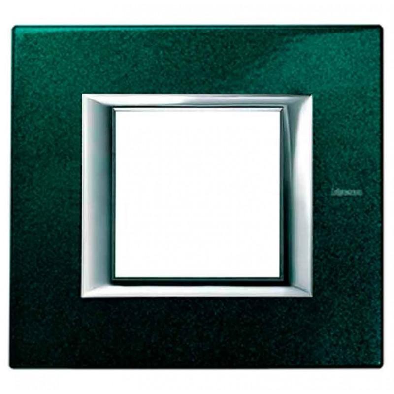 Placa 1 Ventana Verde Sevres HA4802VS BTicino Axolute