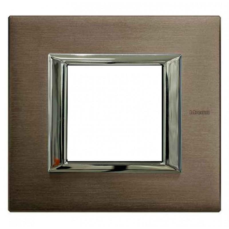 Placa 1 Ventana Bronce HA4802BR Axolute