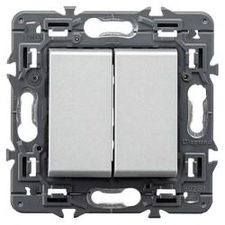 Conmutador Doble Aluminio...