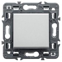 Pulsador 6A - 230V Valena Next Aluminio 741350 Legrand