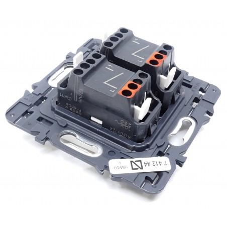 Interruptor Doble Blanco Legrand 741244 Valena Next