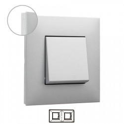 Placa Aluminio Cromo 2...