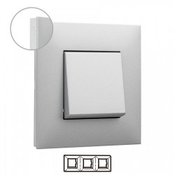 Placa 3 Elementos Aluminio...