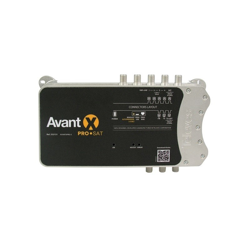 Central Programable AVANT X PRO Sat Televés 532131