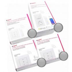 Centralización de 2 Persianas Pack Valena Next with Netatmo Aluminio