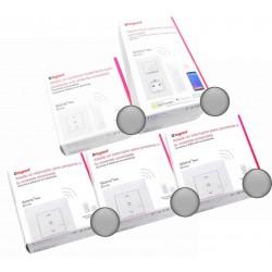 Pack para Centralizar 3 Persianas Aluminio Legrand Valena Next Netatmo