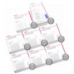 Pack Control de 6 Persianas Legrand Valena Next with Netatmo Aluminio