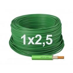 Manguera flexible unipolar 1x2,5 Libre halógenos RZ1-K (AS) 1KV