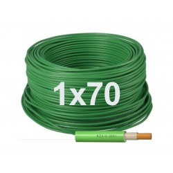 Manguera cable flexible Libre halógenos 1x70 Unipolar RZ1-K 0,6/1KV