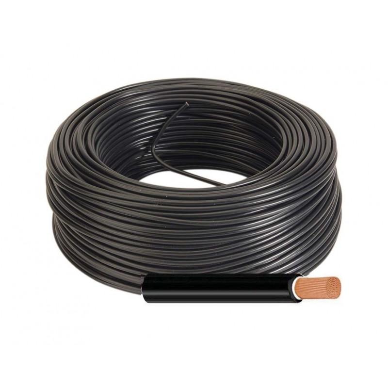 Manguera eléctrica Unipolar Flexible 1x35 RV-K Color Negro