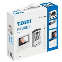 Kit de Video Color 2 Hilos Unifamiliar 379011Bticino Tegui