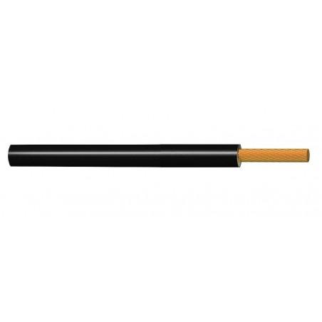 Cable Flexible Eléctrico Normal 1 mm² NEGRO H05V-K 300-500V