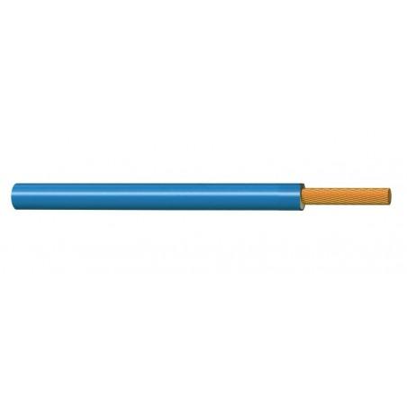 Cable Unipolar Eléctrico Normal 1 mm² AZUL H05V-K 300-500V