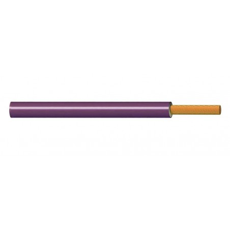 Cable Flexible Normal 1 mm² MORADO 300-500V H05V-K