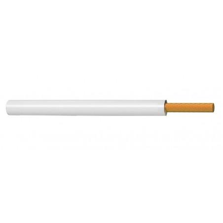 Cable Flexible Eléctrico Unipolar 1 mm² BLANCO H05V-K 300-500V