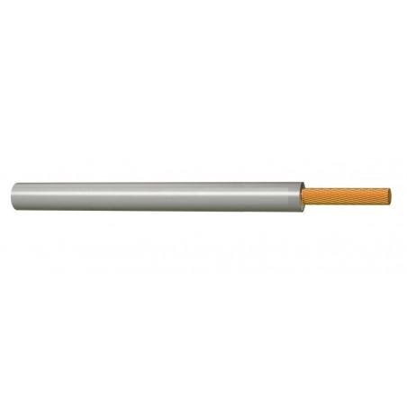 Cable Eléctrico Normal Flexible 2,5 mm² GRIS 450-750V H07V-K