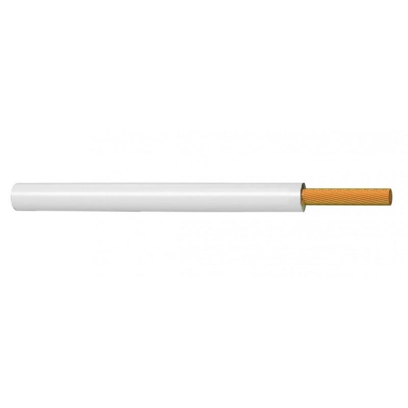 Cable Flexible Normal Unipolar 2,5 mm² BLANCO 450-750V H07V-K